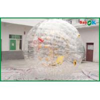 China PVC Bubble Human Sized Hamster Ball For Amusement Park 3.6x2.2m on sale