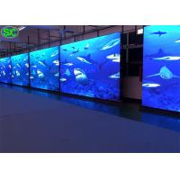 Front Open Led Video Screen Rental P6mm / Super Bright Led Display Board Wide View Angle Manufactures