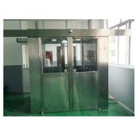 Computer Voice Control Cleanroom Air Shower For Pharma Instrument Industry Manufactures