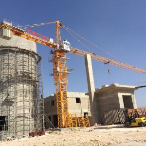 China China Factory Manufacturer QTZ125 8t Harga Tower Crane on sale