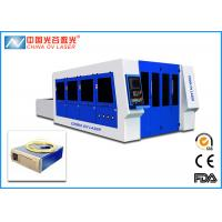 Fiber 7mm Sheet Metal Cutting Machine with 2000 x 4000 mm Working Table Manufactures