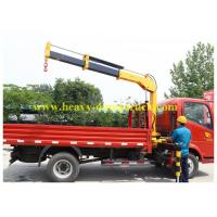 China 4x4 5 tons Sany crane Truck Mounted Hydraulic Crane 2190 - 5200 mm Outtrigger span on sale