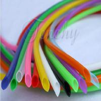 Odorless High Temp Silicone Tubing Food Grade Round Shaped For Medical Devices Manufactures