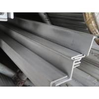 China Cold Drawn SS Angle Iron Hairline Finished , Equal Angle Steel on sale