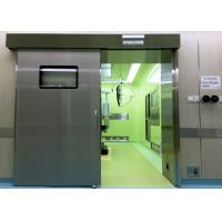 Medical Operating Room Automatic Hermetic Sliding Door Stainless Steel Manufactures