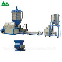 Single Screw Plastic Recycling Machine Granulating Recycling Machine 55Kw / 15Kw Manufactures