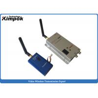 12 Channels Analog Wireless Video Transmitter 1000mW Long Range Transmitter and Receiver Manufactures