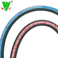 China hydraulic hose pipe manufacturers supply steel wire braided rubber 6mm hydraulic hose Manufactures