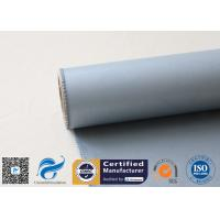 Flameproof 600 g/m2 Silicone Coated Fiberglass Fabric for Heat Insulation Manufactures