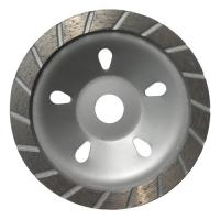 180MM Sintered Turbo Grinding Head Diamond Cup Wheel , Concrete Grinding Wheel Manufactures