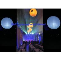 1.6M Diameter Balloon Inflatable Lighting Decoration DMX512 Control Option Manufactures