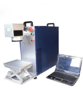 Desktop Fiber Laser Marking Machine Deep Engraving 30w / 50w / 100w Manufactures