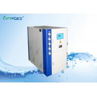 Cabinet Type Water Cooled Water Chiller Small Chiller Units With R407C Gas Manufactures