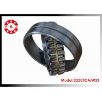 22205CA/W33 Chrome Steel Spherical Roller Bearing Double Rows With One Piece Brass Cage Manufactures
