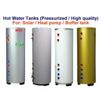 100 - 500 L Small Hot Water Storage Tank White / Silver / Golden Color Manufactures