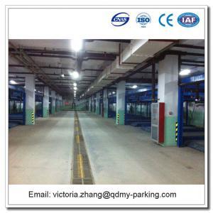 China Double level vertical horizontal Underground Used Home Garage Car Lift on sale