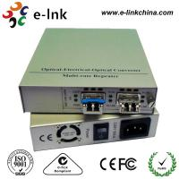 10G Fiber Ethernet Media Converter SFP+ to UTP with Build-in Power Supply Manufactures