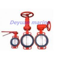 China butt-clamped butterfly valve on sale