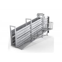 Portable Cattle Loading Ramp Non Slip Walkway Anti Corrosion Finish Manufactures