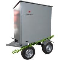 Trailer Type Wheel Mounted Vacuum Used Transformer Oil Recycling/Insulation Oil Filtering/Dielectric Oil Treatment Equip Manufactures