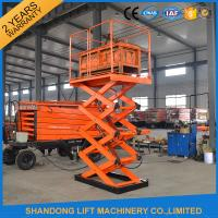 Industrial Warehouse Dock Lifts Material Handling Equipment 220v or 380v 3.8M