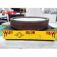 Dead Man Stop Heavy Duty Material Handling Carts , Trackless Rail Transfer Car Manufactures