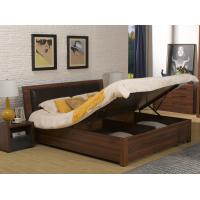 Quality 2016 New Nordic Design Furniture by Leather Upholstered lift storage bed with for sale