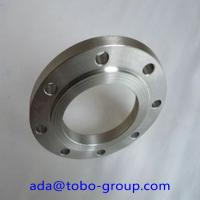 Forged Super Duplex 2507 Stainless Steel Flanges , Inconel718 07Cr19Ni1 SHH304H BL flange Manufactures
