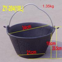 Heavy Duty Rubber Industrial Bucket 10litre Manufactures