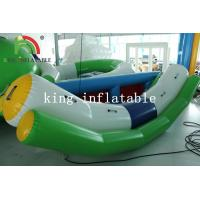 Outdoor Summer Water Games White / Green Blow Water Seesaw PVC Toy For Kids And Adults Manufactures