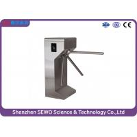 Vertical fully automatic passage tripod turnstile gate