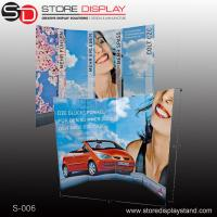 Quality promotional exhibition corrugated paper cardboard display stand for sale