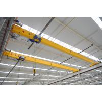 Quality single girder overhead travelling crane for industrial workshop warehouse with chain hoist for sale