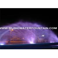 Decoration Water Projection Screen Jets Fountain Project Oman Manufactures