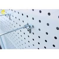 Steel Single Peg Board Hooks , Electroplating Heavy Duty Metal Pegboard Hooks Manufactures