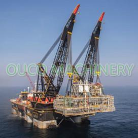 Large Tonnage 60t Oil Platform Offshore Pedestal Crane Manufactures