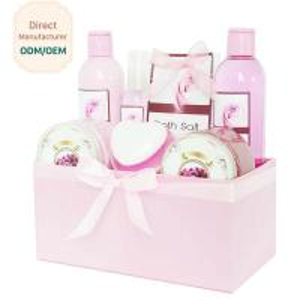 Ladies Shower Gift Sets Plastic Bottle Natural Color Delightful Scent Manufactures