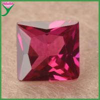 sale prices per carat square Industrial synthetic corundum ruby stone, ruby stone prices Manufactures