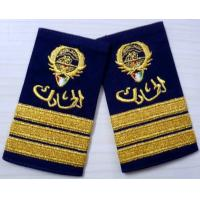 China Twill / Cotton / Felt Military Custom Embroidered Patches, Embroidery Badges on sale