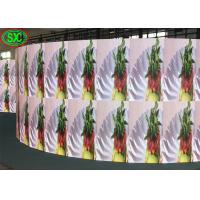 Waterproof P4.81 Full Color Outdoor Led Screen Rental , Curved Led Display Screen Manufactures