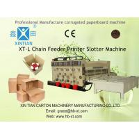 Packaging Corrugated Carton Box Making Machine With Die-Cutting Manufactures
