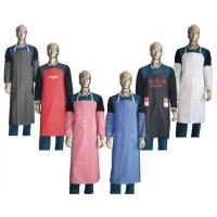 Non - Woven Fabric PVC Water Resistant Kitchen Apron For Dishwashers / Cooking Manufactures