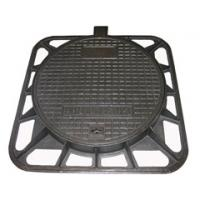 ductile iron D400 square water manhole cover and frame Manufactures