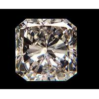 China High Quality Wuzhou Square Cut Synthetic Cubic Zirconia Cz Gemstone For Jewelry on sale