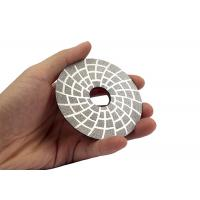 Abrasive Diamond Tool Floor Buffing Machine Pads , Diamond Floor Polishing Pads 3 Inch Manufactures