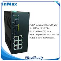 China 9 ports Industrial PoE Switches, 3G+6TP Gigabit POE networking Switch on sale