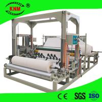 Jumbo roll center pull dispenser toilet paper slitting rewinding machine Manufactures