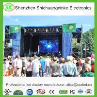 P3.91 Rental RGB Color indoor led video wall , flexible led screen Exhibition Manufactures