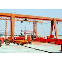 High Efficiency 20 Ton Overhead Crane , Hoist Single Girder A Frame Overhead Rail Crane Manufactures
