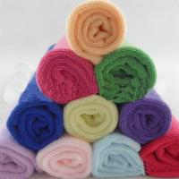 China 25*25cm Absorbent Microfiber multifunctional Square Car & Kitchen Cleaning Towel on sale